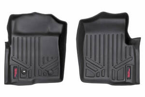 Rough Country Durable Floor Mats fits 2004 2008 Ford F150 Front Liners