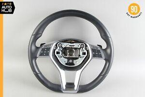 12 13 Mercedes R172 Slk350 E350 Sport Driving Steering Wheel Black Oem