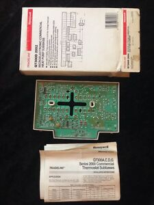 Q7300d 2002 Honeywell Thermostat Subbase Heat Pump New In Box Old Stock