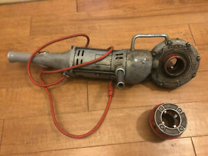 Ridgid 700 Power Drive Pipe Threader With 1 1 2 And 2 Dies Works Great