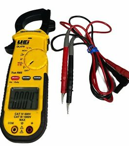 Uei Dl479 True Rms Clamp Meter Tester W leads Case