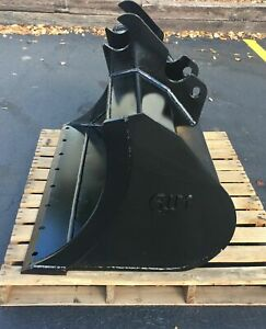 New 48 Clean Up Bucket For A Kubota U55 With Coupler