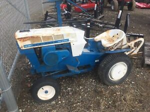 Sears Suburban 12hp 6 speed With Sicklebar Mower And 3 point Hitch Plow Nice