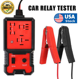 Us Electronic Automotive Relay Tester For 12v Cars Auto Battery Checker