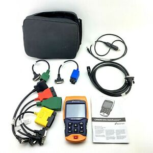 Actron Cp9690 Elite Auto Scanner Obd I Ii Live Data Scan Tool W Case Cables