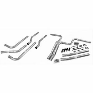 Dynomax 89006 Exhaust Dual Kit Manifold Back Steel Aluminized For Chevy Gmc New
