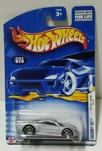 2002 Hot Wheels First Editions Saleen S7 Silver 26