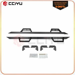 Nerf Bars Side Step Running Board Pair Fit For Ford F 150 Crew Cab 15 21 Black