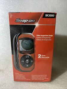 Snap On Tools Video Inspection Scope Bore Scope Bk3000