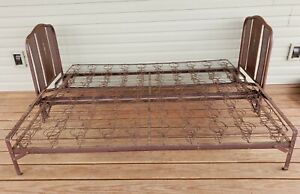 Antique Metal Bed Frame Single Double