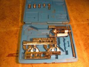 Imperial Eastman Tubing Flaring And Swaging Tool Kit 1 8 3 4 45 Degree 275fs