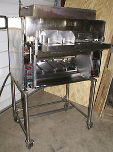 Nieco Automatic Broiler Chain Conveyor Oven Burger Chicken Gas Mpb94 Incendalyst