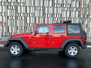 2014 Jeep Wrangler Sport 2014 Jeep Wrangler Unlimited 126140 Miles 126140 Miles Flame Red Clear Coat Con