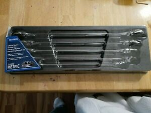 New Mountain And Monster 5pc Metric Double Box Ratcheting Flex Head Wrench Set