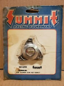 Summit Racing Air Cleaner Wing Nut Chrome Nos Chevy Ford Mopar