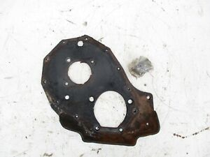 Chevy 216 235 261 Timing Cover Back Plate Engine Motor Mount E