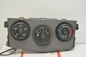 09 13 Toyota Corolla Climate Control Unit Heater Ac Temperature Hvac Cd55 023