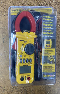 Sperry Instruments 12 Function True Rms 600a Digital Clamp Meter