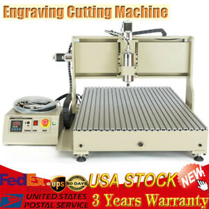 Usb 1500w Metal Nonmetal Router Engraving Cutting Machine 4 Axis 6090 Usus