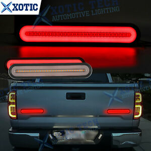 For Toyota Tacoma Tundra Strobe Flowing 100 led Turn Signal Brake Tailgate Light