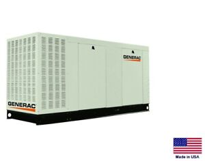 Standby Generator Commercial 70 Kw 120 208v 3 Phase Natural Gas