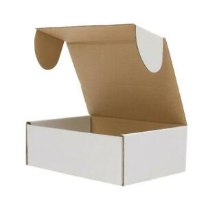 50 100 Pc Cardboard Paper Boxes Mailing Packing Shipping Box Corrugated Carton