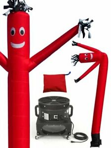 Lookourway Air Dancers Inflatable Tube Man Complete Set With 1 Hp Blower 20 fee