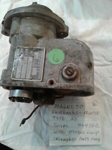 Fairbanks morse Magneto Type 20 Wisconsin Motor Parts Only