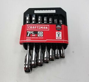 Craftsman 7pc Sae 12 Pt Ratcheting Wrenches