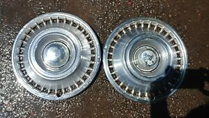 1967 1968 Chevy Impala Nova 14 Hubcaps Wheel Covers Gm Chevrolet 67 68