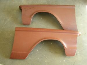 Nos Oem Ford 1962 Fairlane 500 Front Fenders Sheet Metal Fender Pair