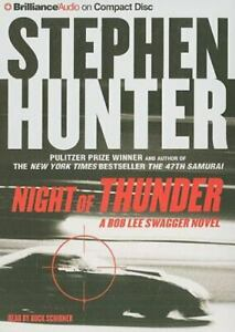 Night of Thunder Bob Lee Swagger Series by Hunter Stephen $5.86