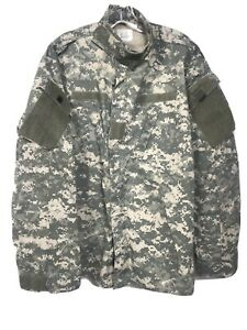 US Military Issue Universal Camo Tactical ACU Coat 8415 01 519 8607 Large Long $25.49