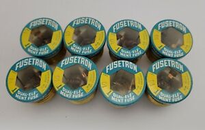 8 Nos Buss Fusetron Type T 10 Amp Fuse Dual Element Time Delay Fuse Screw