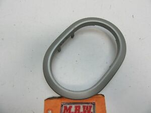 Shifter Trim Ring Auto Automatic Transmission Floor Shifter Bezel Center Silver