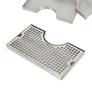 Beer Drip Tray Polished Removable Kegerator Tap Draft Beer Drip Tray 5x1 75 Sus