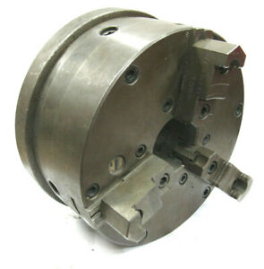 Buck 3 jaw 9 inch Self Centering Lathe Chuck With D1 6 Spindle Mount