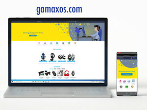 Business Gaming Accessories Dropshipping Website App Domain For 6b Market