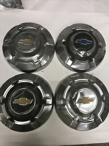 67 72 Chevy Truck 3 4 Ton Chrome Hubcaps 73 80 K20 C20 Vintage Chevrolet Poverty