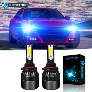 9005 Led 8000k Bulb Headlight Upgrade High Low Beam For 2016 2019 Dodge Charger