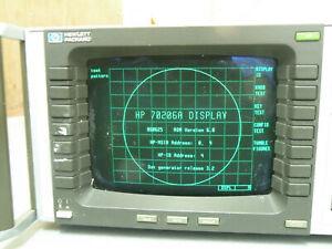 Hp 70206a System Graphics Display For Hp 70000 Mms Parts Repair