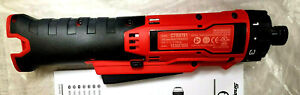 Snap On Tools 14 4v Red Cordless In Line Screwdriver 1 4 Drive Ctss761 New