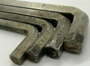 4pc Snap Tools Tools Jumbo Sae Hex L shaped Key Set Lot Allen Wrench 7 16 5 8