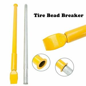 New Impact Tire Slide Hammer Ram Bar Bead Breaker Car Truck Trailer Yellow Rep