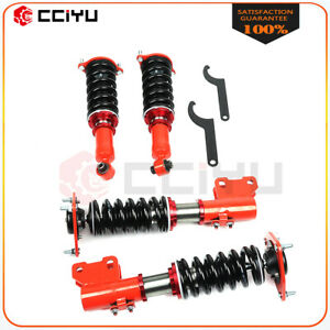 Coilovers For 91 96 Mitsubishi 3000gt Fwd Shocks Adj Height Suspension Springs
