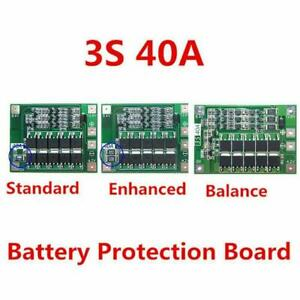 12 6v Lithium Battery Pcb Bms Protection Board 40a For Drill 3s Motor Fast