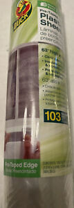 Duck Plastic Sheeting Roll Clear Drop Cloth Tape Heavy Duty Protector Sheet Cove