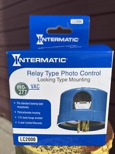 Intermatic Relay Type Photo Control Locking Type Mounting Lc2000