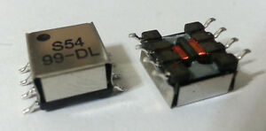 Transformer Pcb Mount Smd Miniature 5 24v Rs232 Coilcraft S5499 dlb Smt New 50pc