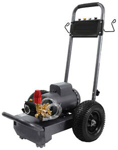 Pressure Washer Electric Commercial 3 Hp 230v 1 Ph 1 500 Psi 3 Gpm